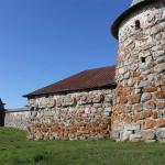 стена между Белой и Прядильной башнями