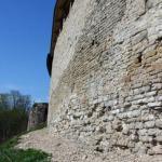 восточная стена, вид в сторону башни Колокольная (высота 12м)