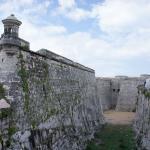 северный бастион Castillo De Los Tres Reyes Del Morro