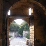 ворота перед внутренним замком
