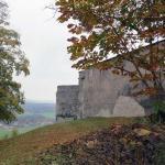 замок Грюйер, вид на север