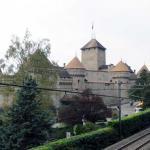 замок Шийон, вид с юга
