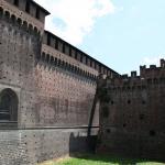 юго-западный форт, замок Сфорца