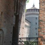 юго-западные ворота, замок Сфорца