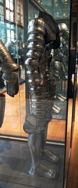 защита рук, ног /музей Армии, г. Париж/